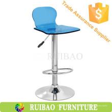 Барный стул Высокий стул Акриловые шарнирные пластины Барная мебель для баров