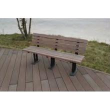 Anti-Peeling Anti Inchaço Mold-Resistente Madeira Composto Park Bench