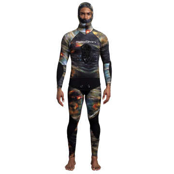 Muta in neoprene 3mm Seaskin per immersioni subacquee