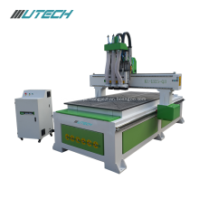 Multi spindles wood MDF 3d cnc router 1325