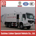Howo Garbage compress truck 6x4 drive 16M3