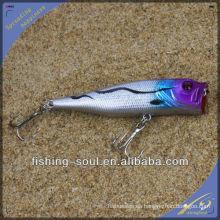 PPL006 10cm 15g Nuevo Estilo Señuelo de Pesca de Plástico Popper Señuelo
