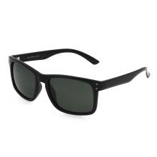 Luxury Custom Logo Mens TR Square Frames Polarized Driving Sunglasses River