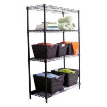 Powder Coating Home Decorate Storage Wire Shelf (LD12035180A4C)