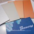 Alunewall PE / PVDF a enduit la publicité imprimant le panneau composé en aluminium facorty la vente directe