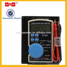 Multímetro de rango automático 3 3/4 DT10A * Estilo del portátil