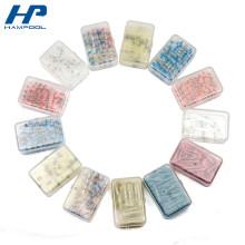 Petites boîtes à outils en plastique transparentes pour la tuyauterie de rétrécissement de la chaleur