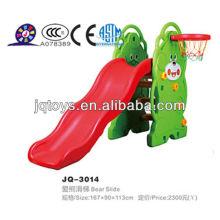 Juguete de plástico de las estructuras de la diapositiva del juego de los niños de Hotsale