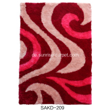 1200D Silk Shaggy mit Design