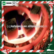 Feiyang alta dureza cubo de coco shisha carvão