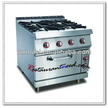 K269 With Cabinet Or Electric Oven 4 Burners Gas Range