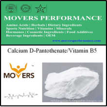 Supplément de nutrition D-Pantothenate de calcium / Vitamine B5
