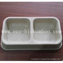 Bamboo Fiber Pet Supply Basin (BC-PE6006)