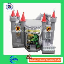 Castillo de cocodrilo inflable castillo hinchable bouncer combo inflable
