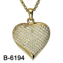 Nuevo diseño de joyería de moda 925 collar de plata colgante