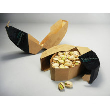 Recycled Brown Paper Box for Food Package and Nuts