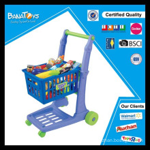 New children trolley shopping toy cart