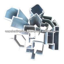 Sección de aluminio para arquitectura