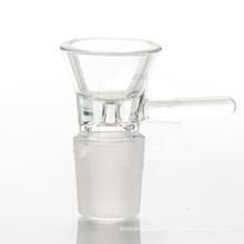 Glas Zubehör für Rauch mit Trichter Style Ersatzschale (ES-AC-017)