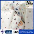 100% tecido de algodão 40s 180gsm único tecido impresso de malha para roupas de bebê