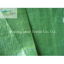 Coche verde cubierto de tejido de tela/pabellón Industrial
