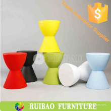 2016 Оптовая функция высокого качества хранения Низкий пластиковый стул из песочного стекла