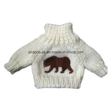 Knit Doll Clothes, Sweater for Bear Toy