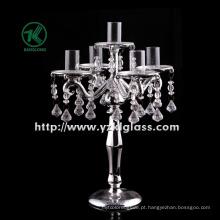 Suporte de vela de vidro para decoração ...