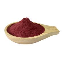 Suplemento nutricional em pó orgânico de suco de beterraba