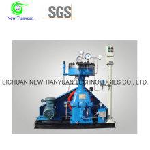 Compresseur de diaphragme à compression de gaz industriel à haute pureté