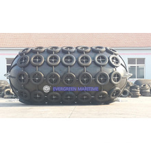 Marine Yokohama tipo defensor de goma flotante neumático natural