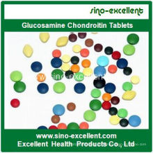 Verbesserte Knochendichte Glucosamin Chondroitin Tablette