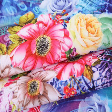 200T CVC Percale Printed Fabric