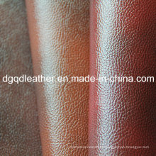 Good Scratch & Two-Tone Color Furniture PVC Leather (QDL-PV0173)
