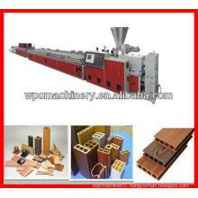 wood plastic extrusion machine wood plastic extruder