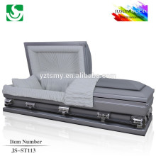 cercueil d'acier inoxydable