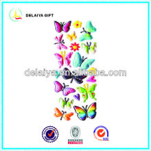 3D PVC butterfly stickers