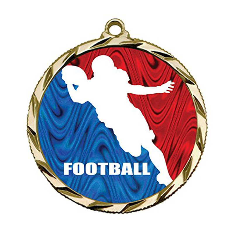 Engraved Football Medals