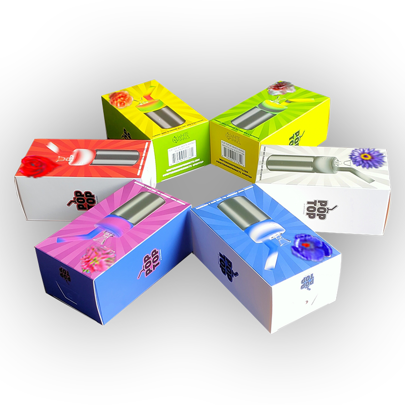 Skin Care Products Health Card Box