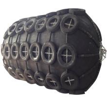 Uno mismo de goma neumático antiabrasión de la defensa del barco que flota para el barco y el muelle