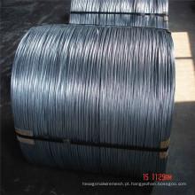 Arame de ferro de bobina grande galvanizado quente quente