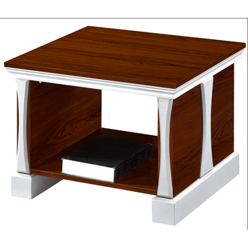 Square streamlined Stool coffee table