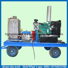 1000bar Дизельный двигатель Очиститель высокого давления Давление воды Промышленный очиститель
