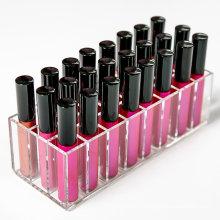 Support acrylique à lèvres avec 24 machines à sous