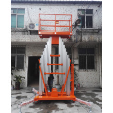 Pelantar Kerja Aluminium Mast Portable Single