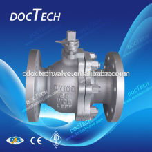 "Hot- Sale Big Size 8"" ANSI Q41F Duplex Flange Stainless Steel Float Ball Valve"