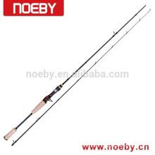 NOEBY carbone courageux IM8 fibre solide carpe canne à pêche barre de poisson