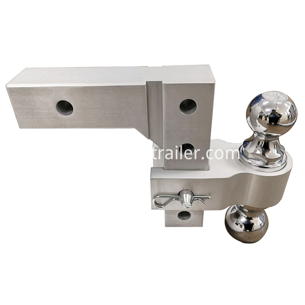 2 trailer tow hitch ball mount