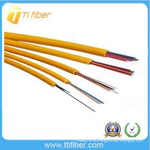 4-24 núcleo Cable de fibra óptica de distribución interior con tampón apretado de 0,9 mm
