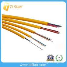 4-24 ячеек Внутренний распределительный волоконно-оптический кабель с 0,9 мм плотным буфером
